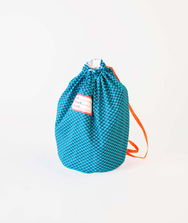 Sac de piscine Bubble bleu