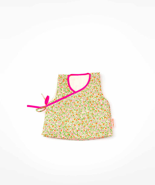 Gilet bébé Flower Power rose Petit Pan