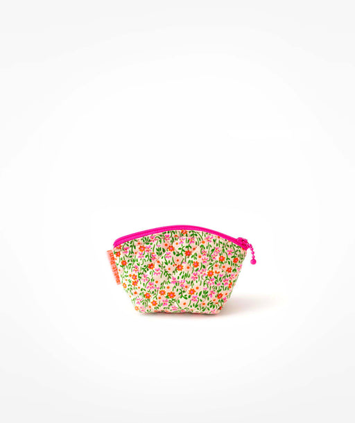Porte-monnaie Flower Power rose Petit Pan