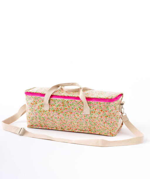 Sac Bento Flower Power rose Petit Pan