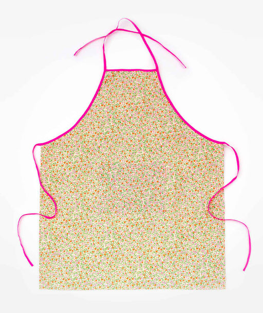 Tablier de cuisine adulte Flower Power rose Petit Pan