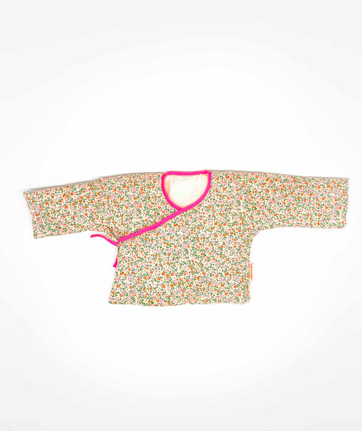 Veste bébé Flower Power rose