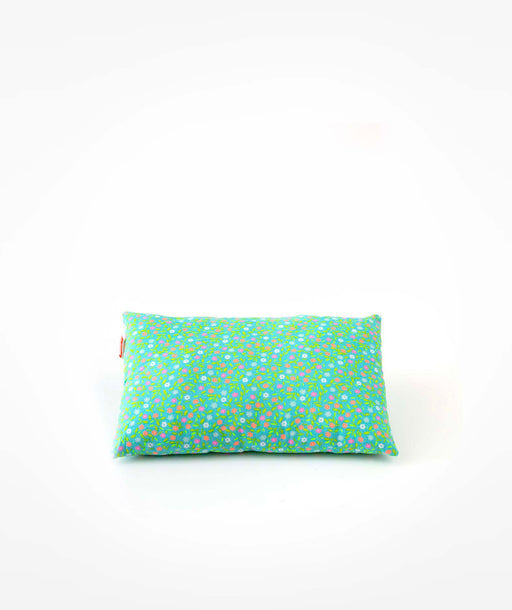 Coussin Peace and Love azur Petit Pan