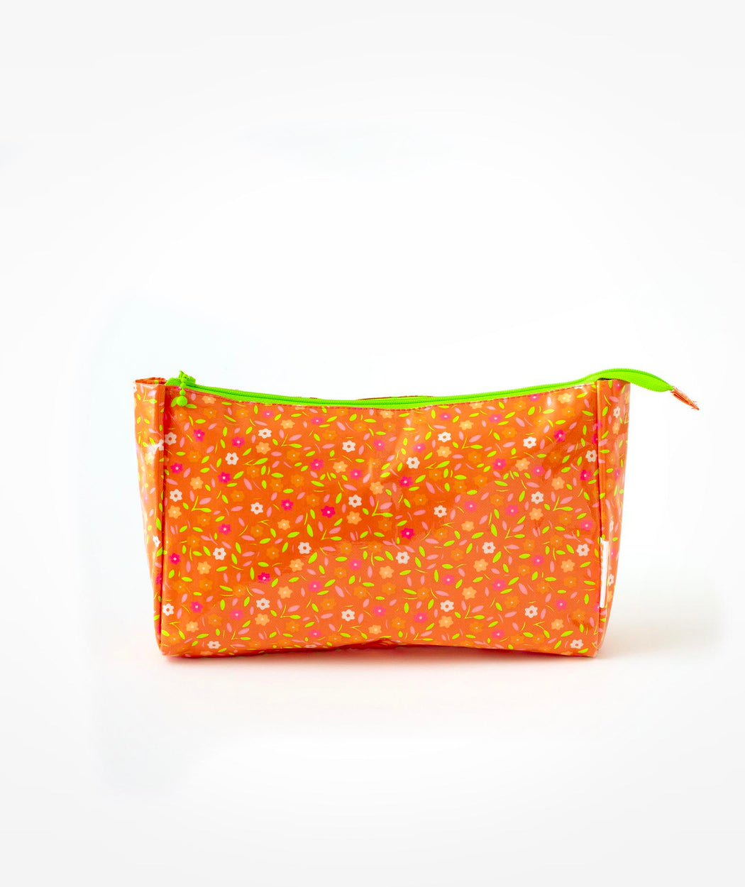 Petite trousse de toilette Peace and Love orange Petit Pan