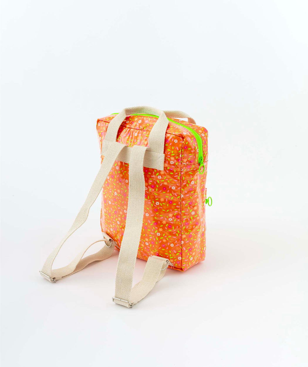 Sac à dos Akiko Peace and Love orange Petit Pan