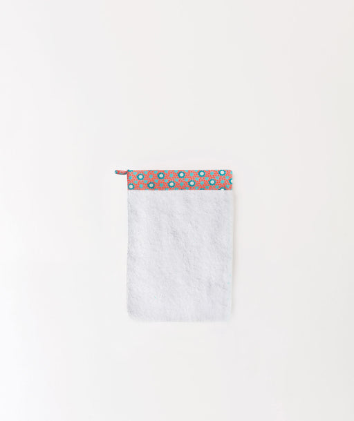 Gant de toilette Lichen orange
