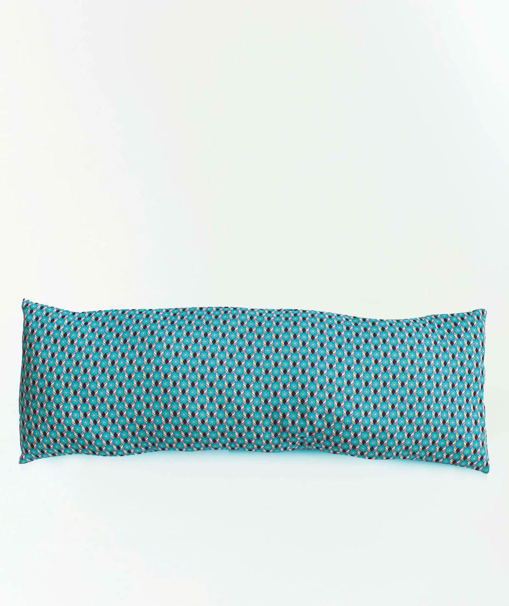 Coussin long Piazza turquoise