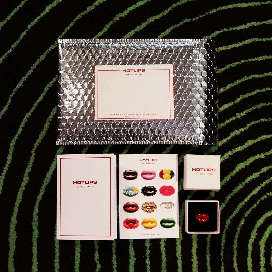 Hotlips by Solange packaging