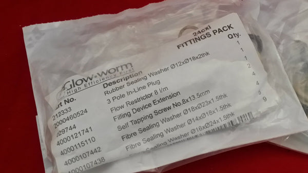 GLOWWORM 801669 FITTING PACK 24CXI