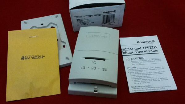 Honeywell T822D1743 Low Voltage Room Thermostat Temperature Range 10-30C