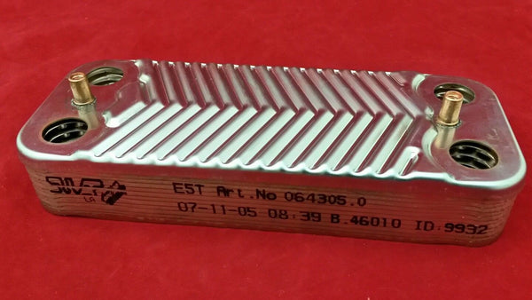 New Glowworm S99800361 SECONDARY HEAT EXCHANGER (Genuine spare)