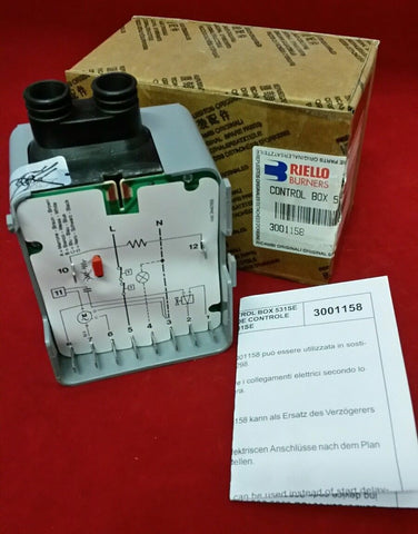RIELLO 3001158 CONTROL BOX (53 SE)