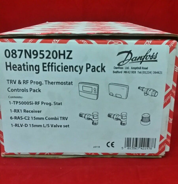 New Danfoss Heating Efficiency Pack 087N9520HZ (Genuine Spares)