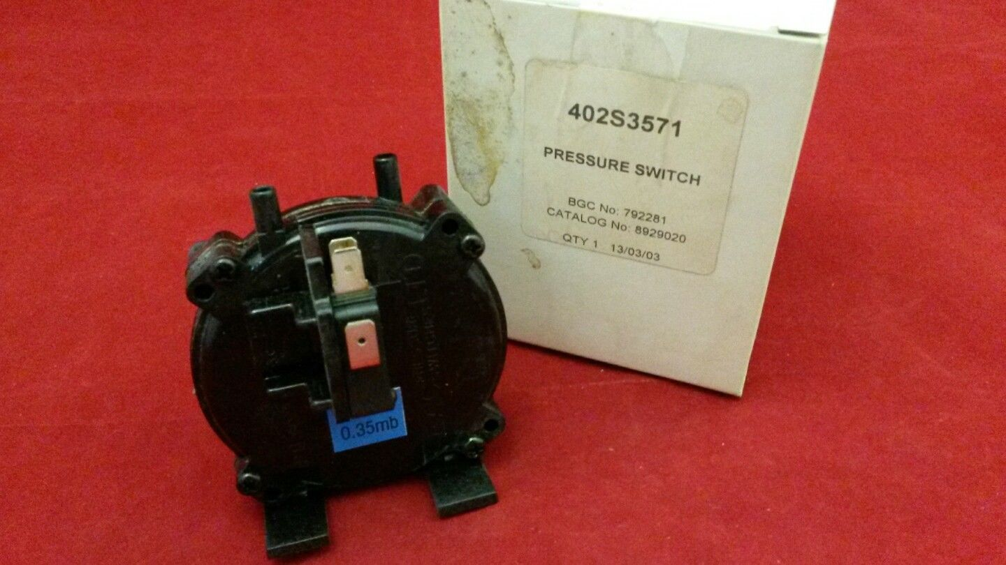 NEW POTTERTON 402S3571 PRESSURE SWITCH (Genuine spare)