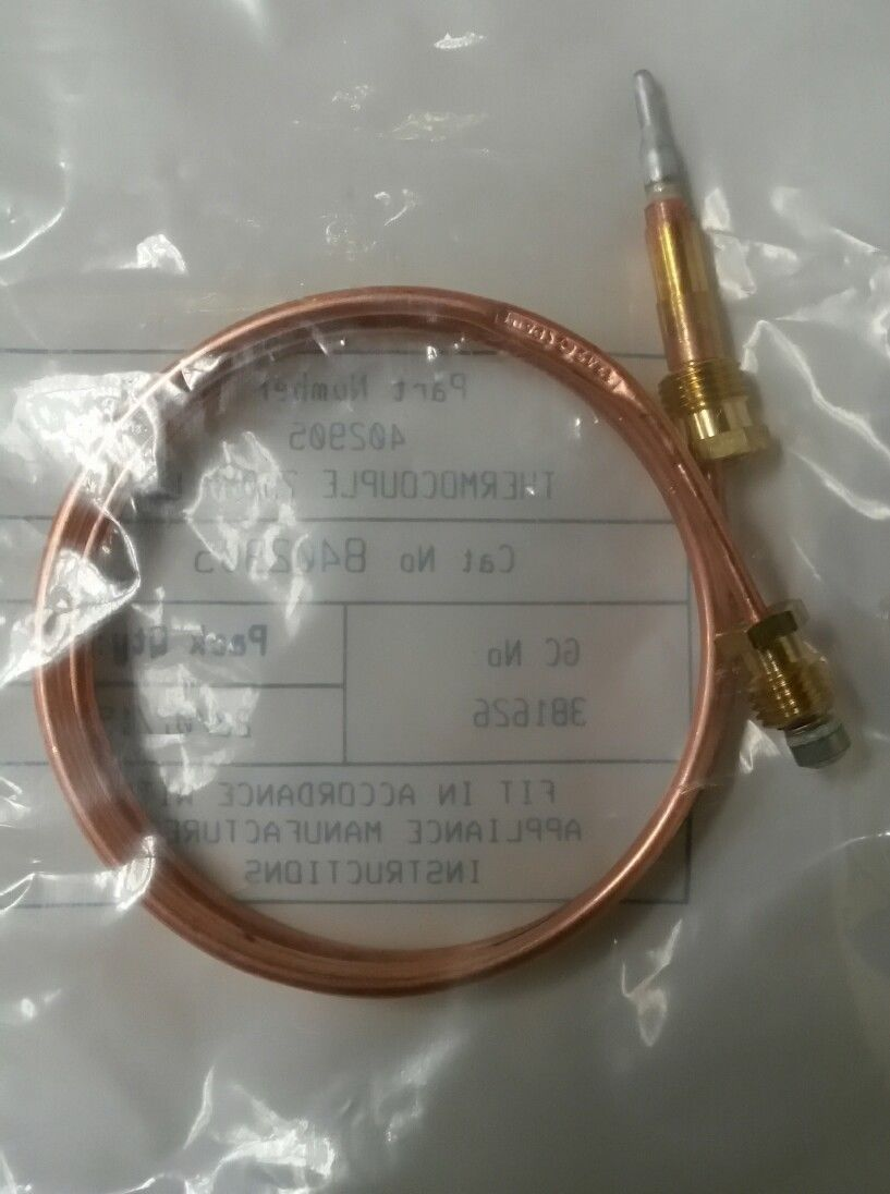New POTTERTON 402905 THERMOCOUPLE 750MM LONG (Genuine spare)
