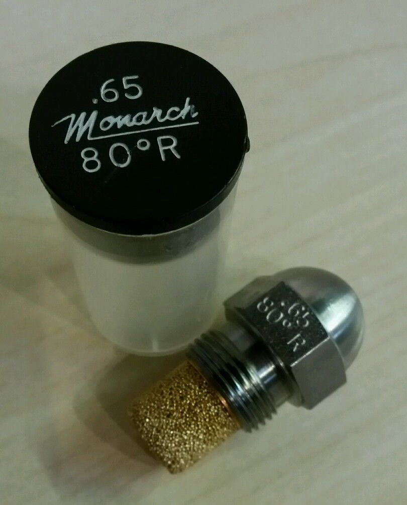 Monarch Oil Boiler Burner Nozzle 0.65 x 80 R
