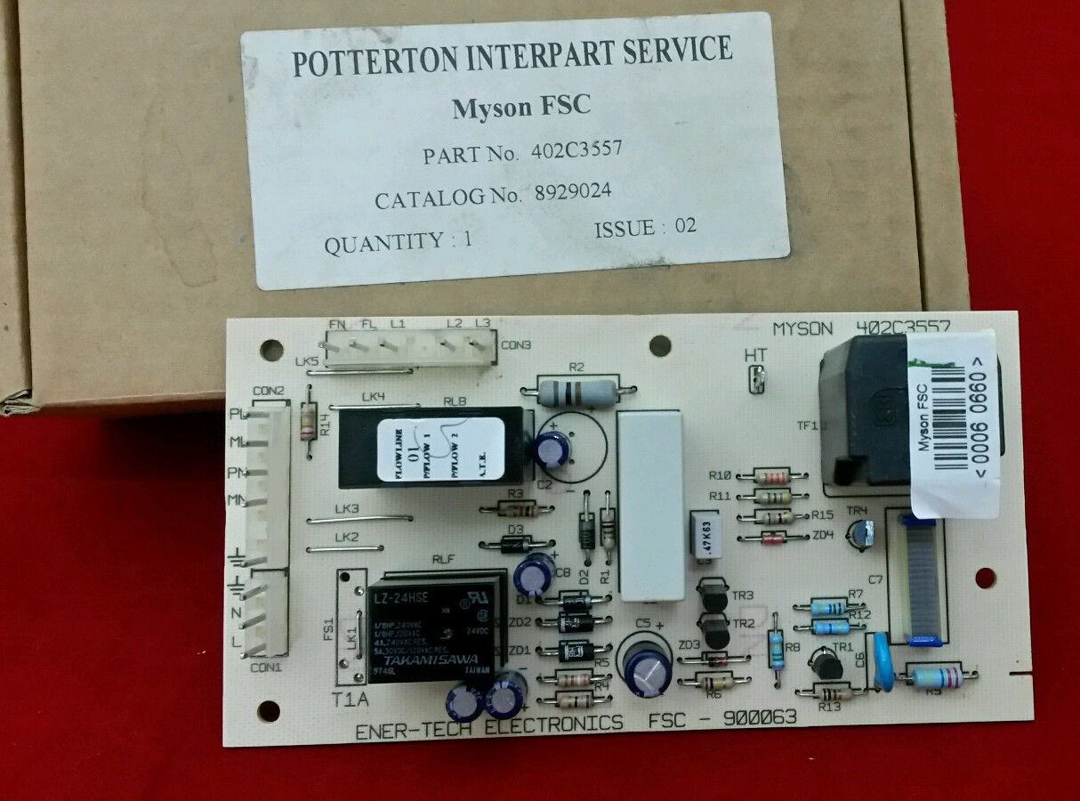 New POTTERTON 929306 PCB (Genuine Spare)