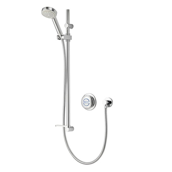 Aqualisa Quartz Digital Shower Concealed (Gravity Pumped) QZD.A2.BV.18