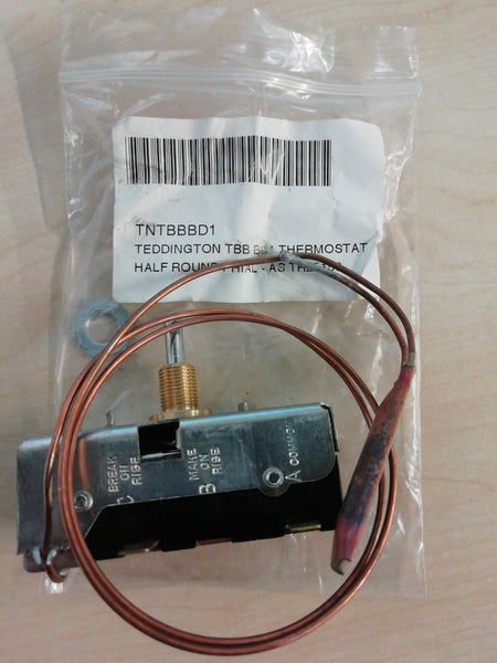 New Teddington TBB AZ2T Thermostat 69-95°c 15 Amp Single Pole heating control (Genuine Spare)