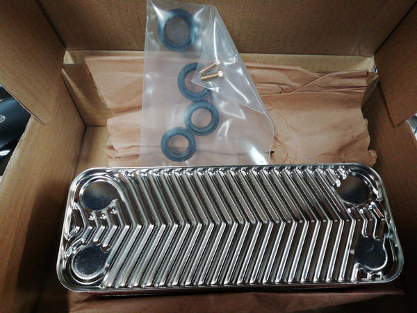 BAXI 720790201 PT TO PT HEAT EXCHANGER 20PTS 40KW (Genuine Spares)