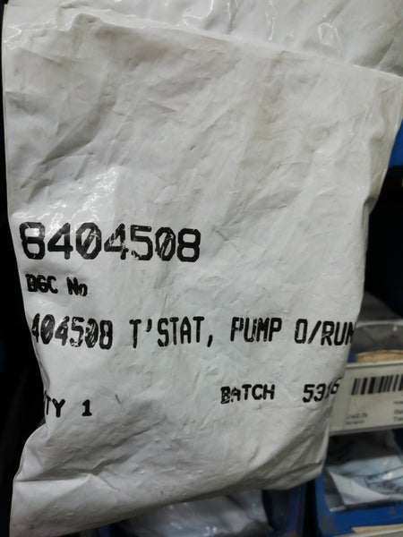 Pump overrun stat 8404508