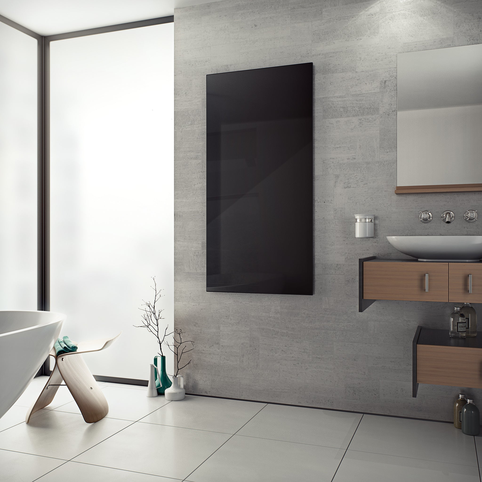 Glass Infrared Radiator