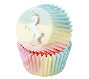 Unicorn Cupcake Cases & Cupcake Decorations