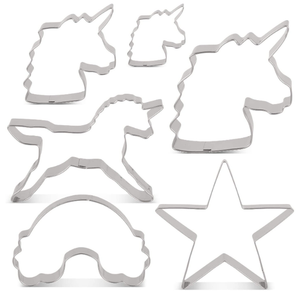 Unicorn Cake Tin Cookie Cutters