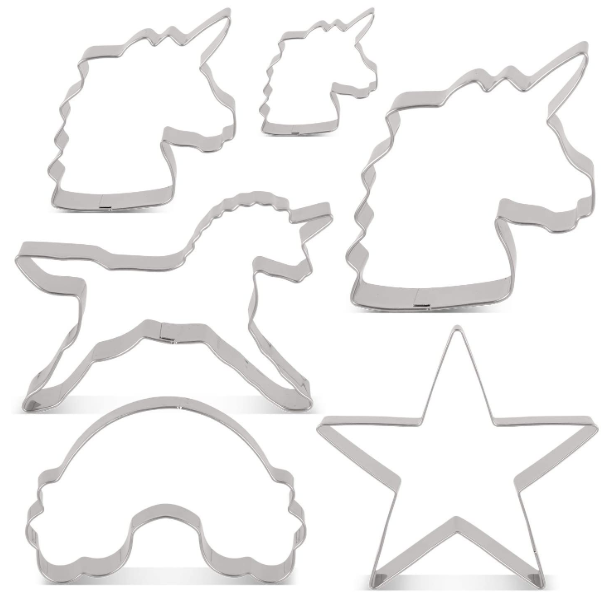 Unicorn Baking Tins, Cookie Cutters & Moulds