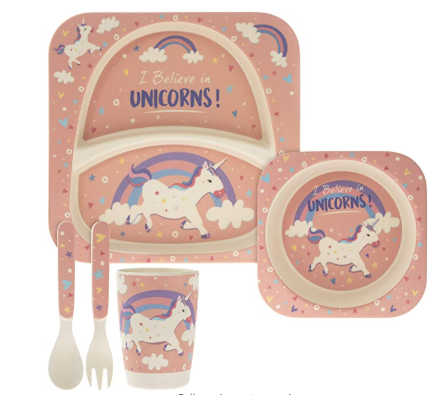 Unicorn Dinner Set for Kids