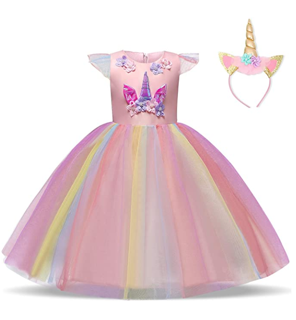 Unicorn Fancy Party Dresses