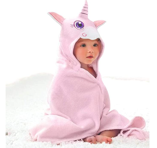 Unicorn Hooded Kids Towels