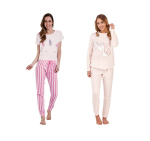 Unicorn Pyjama Sets Women