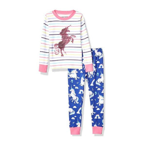 unicorn pyjama sets girls