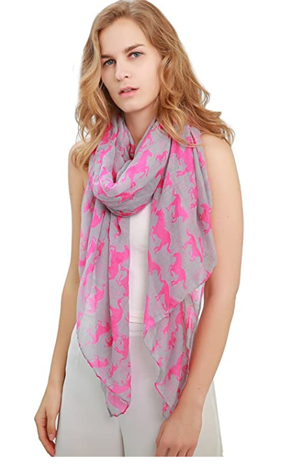 Women's Unicorn Scarves & Pashmina