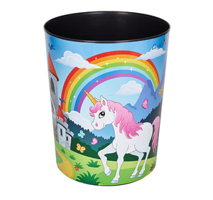 Unicorn themed bin