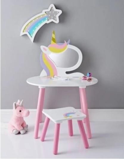 Unicorn Dressing Tables | For Girls Unicorn Bedroom