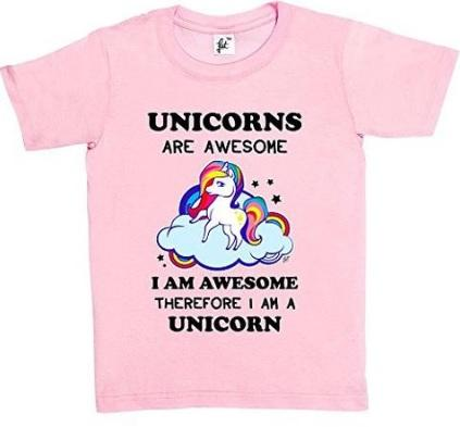 Unicorn T-Shirts & Long Sleeved Tops For Kids