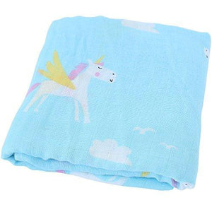 Unicorn Baby Blankets and Swaddles