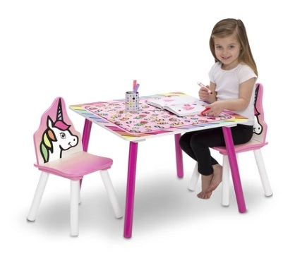 Unicorn Table and Chairs Sets (Kids)