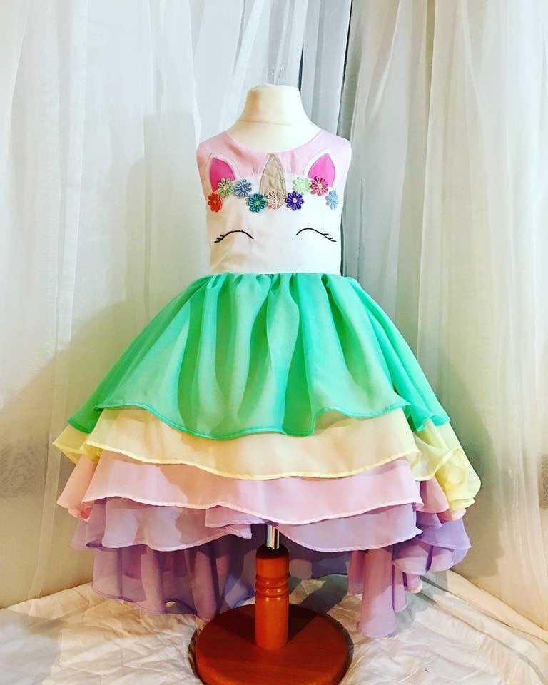 Handmade Unicorn Dress - Rebecca Taylor Clothing
