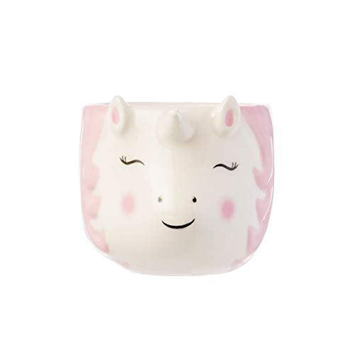 Smiling Unicorn Egg Cup Pink