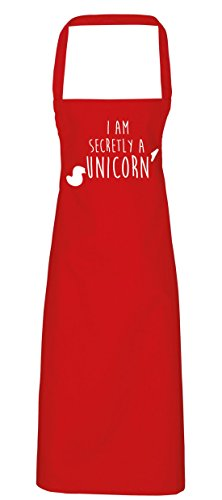 HippoWarehouse i am secretly a unicorn Apron kitchen cooking painting DIY onesize adult