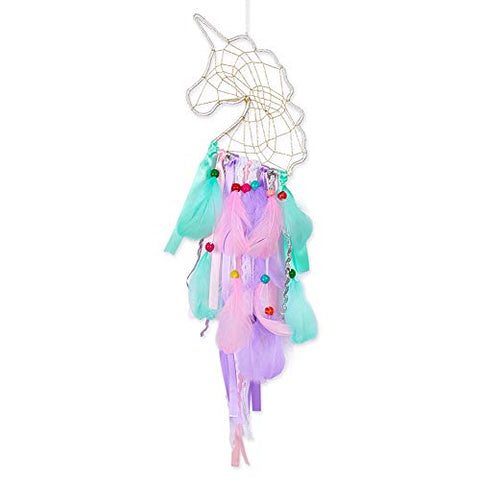 Unicorn wall hanging dream catcher