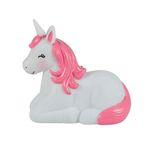 Sass & Belle Rainbow Unicorn Night Light- Pink, White