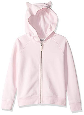 Pale Pink Unicorn Hoodie For Girls