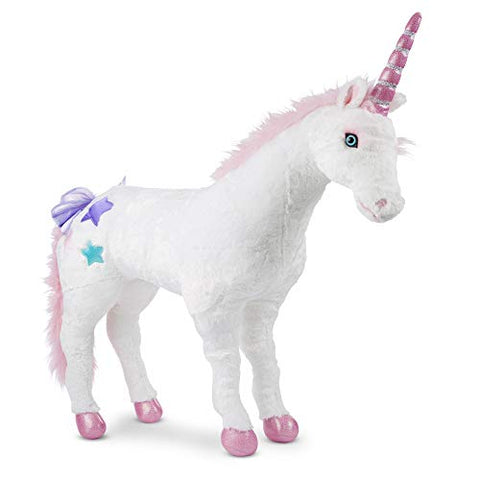 Melissa & Doug Unicorn - Plush | Soft Toy | Animal | All Ages | Gift for Boy or Girl