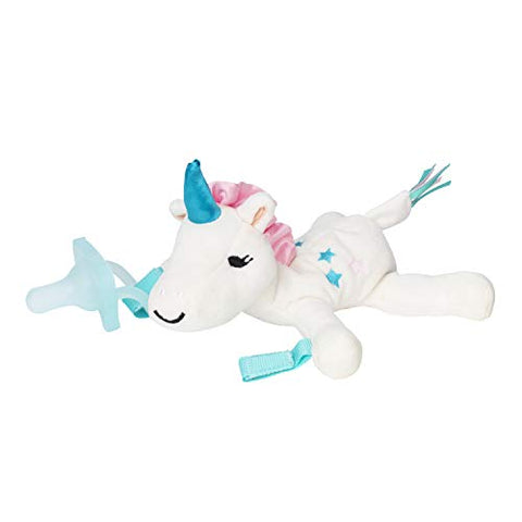 Dr. Brown's Lovey Dummy and Teether Holder, 0 Months+, Unicorn