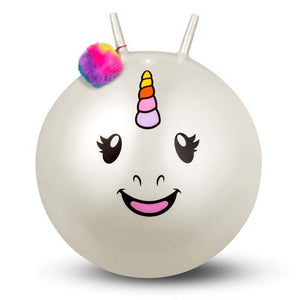 Unicorn Space Hopper Kids Adults Bouncer