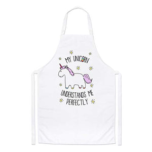 My Unicorn Understands Me Chefs Apron | Gift Idea